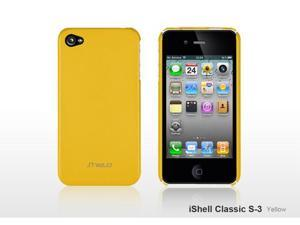 SHIELD iShell Classic S3 Ultra-Slim Highly durable Polycarbonate Case (Yellow) for iPhone 4 / 4S