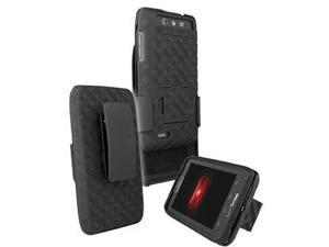 Motorola Droid 4 Shell Holster Combo with Stand Xt894 - Verizon Original