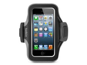 Belkin Slim-fit Plus Armband For Iphone 5, 5s, 5c And Ipod Touch 5th Generation (blacktop / Gravel)