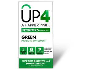 Up4 Probiotics - Dds1 Green With Spirulina - 60 Vegetarian Capsules