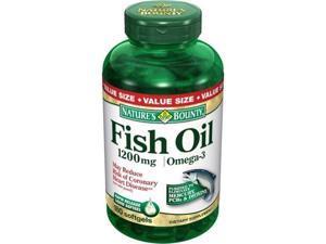 Nature's Bounty Fish Oil 1200 Mg., 180 Softgels