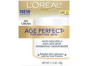 Age Perfect Anti-Sagging & Ultra Hydrating Day Cream SPF 15 - 2.5 oz Cream