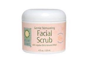 Facial Scrub-Gentle Stimulating Jojoba Almond - Desert Essence - 4 oz - Scrub