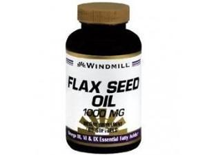 Windmill Flax Seed Oil 1,000 mg Softgels, 60 ct