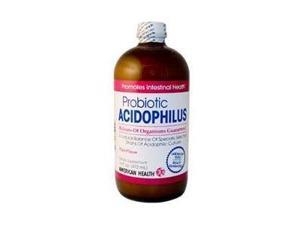 Acidophilus Culture Plain - American Health Products - 16 oz - Liquid