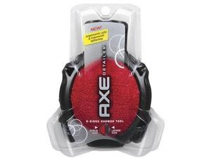 Axe Shower Tool, 2-Sided, Detailer