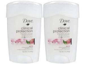 Dove go fresh Clinical Protection, Anti-Perspirant Deodorant Solid, Revive-1.7 oz.