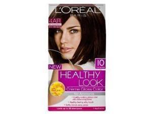 L'Oreal Paris Healthy Look Crème Gloss Color, Cool Chestnut Brown/Iced Chocolate 4AR
