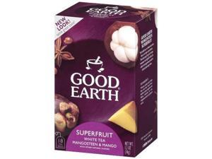 Good Earth Mangosteen Superfruit Tea, 18 Count, 1.27-Ounce Boxes (Pack of 6)