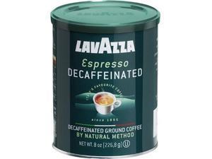 Lavazza Decaffeinated Espresso Ground Coffee, 8-Ounce Can