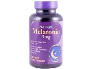 Natrol Melatonin 3mg 240 Tablets