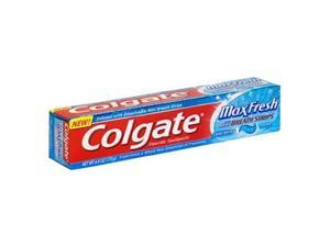 Colgate Max Fresh Toothpaste with Mini Breath Strips, Cool Mint, 6 Ounces