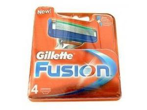 Gillette - Fusion Manual Razor Replacement Cartridges - 4 Pack(s)