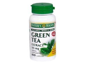 Green Tea Extract with EGCG, 315mg Capsules, by Natures Bounty - 100 Capsules