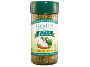 Frontier Pizza Salt- Free Seasoning -- 1.04 oz