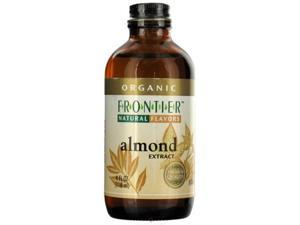 Frontier Natural Certified Organic Almond Extract -- 4 fl oz