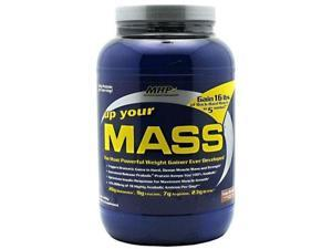 Up Your Mass, Sustained Release Proteins, Fudge Brownie, 2 lbs, From MHP