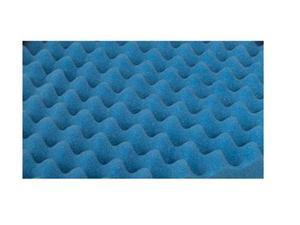 Duro-Med Convoluted Bed Pad Queen-Size Bed Pad, Blue
