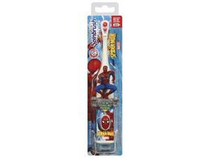 Spinbrush Battery Powered Toothbrush, Spiderman