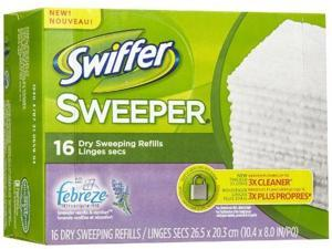 Swiffer Sweeper Dry Cloth Refill-Lavender Vanilla & Comfort-16 count