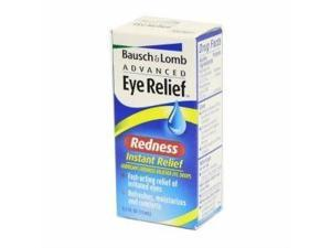 Bausch & Lomb Advanced Eye Relief Lubricant/Redness Reliever Eye Drops, Insta...