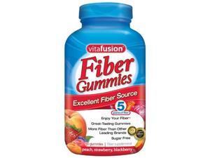 Vitafusion Fiber Gummies, Sugar Free, 90-Count Bottle