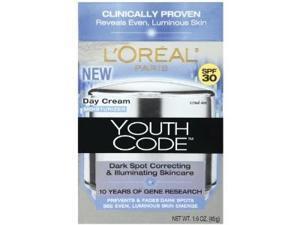 Youth Code Dark Spot Correcting, Illuminating Day Cream, SPF 30, 1.6 Ounce