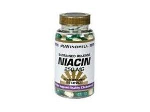 Windmill Windmill Niacin 250 mg, Sustained Release Capsules 100 ea