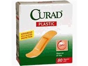 Curad Plastic Bandages, 80 ct