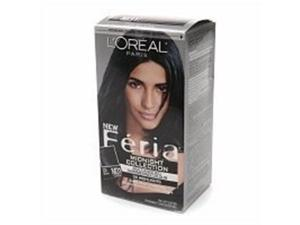 L'Oreal Paris Feria Multi-Faceted Shimmering Colour, Midnight Collection, Cool Soft Black