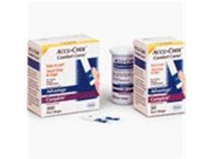 Accu-chek Compact Test Strips, 6 Drums ( Total 102 Strips)