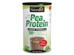 Naturade Pea Protein Diet Supplement Canister, Chocolate, 16.5 Ounce