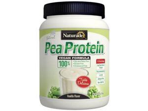 Naturade Pea Protein Diet Supplement Jug, Vanilla, 19.57 Ounce