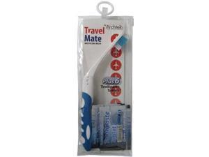 Archtek Folding Toothbrush & Toothpaste Tablets for Travel 1 EA