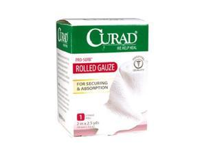 Curad Pro Sorb Rolled Gauze Sterile Roll, 2 in X 2.5 Yards - 1 Ea