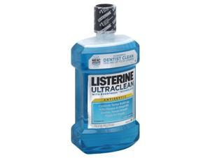 Listerine Ultraclean Mouthwash, Cool Mint, 50.72 Oz, 1.5 Liters
