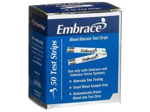 Omnis Health Embrace Blood Glucose Test Strips, 50ct