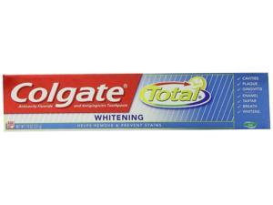 Colgate Total Whitening Gel Toothpaste, 7.8 Oz (pack Of 6)