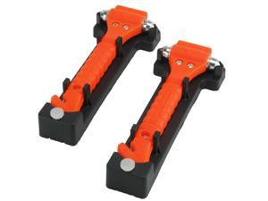 2 Pack - Emergency Hammer - Window Punch / Seat Belt Cutter