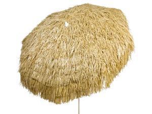 """Palapa Tiki Umbrella 7'6"""" - Whiskey - Patio Pole"""