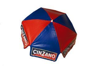 6 ft Cinzano Vinyl Umbrella - Beach Pole