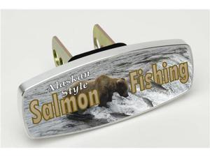 "HitchMate Premier Series Hitch Covers ""Salmon Fishing Alaskan Style"" #4222 - 2"" or 1.25"" Hitch Cover"