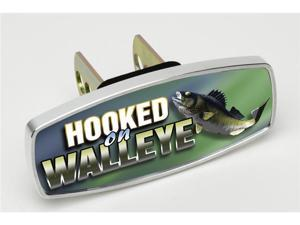 "HitchMate Premier Series Hitch Covers ""Hooked on Walleye"" #4225 - 2"" or 1.25"" Hitch Cover"