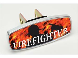 "HitchMate Premier Series Hitch Covers ""Firefighter and Flames"" #4232 - 2"" or 1.25"" Hitch Cover"