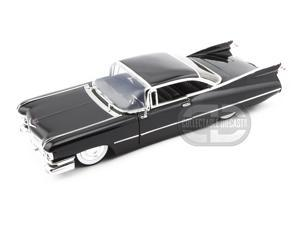 Jada Toys 1959 Cadillac Coupe De Ville 1/24 Black w/ Babymoons