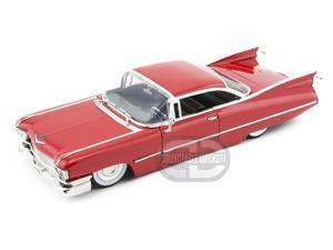 Jada Toys 1959 Cadillac Coupe De Ville 1/24 Red w/ Babymoons