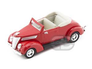 Yat-Ming 1937 Ford V8 Conv 1:43 Red