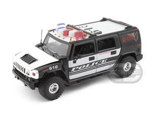 Jada Hummer H2 Heat 1/24 Police K-9 - Jada Toys Diecast