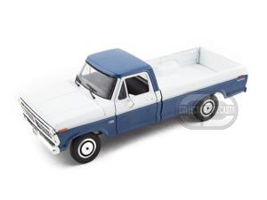 First Gear 1973 Ford F-100 Pickup 2 Tone 1:25 Blue, White