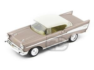 Yat-Ming 1957 Chevrolet Bel Air 1:43 White